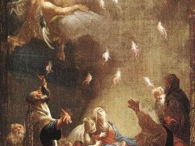 Flames of Pentecost descend